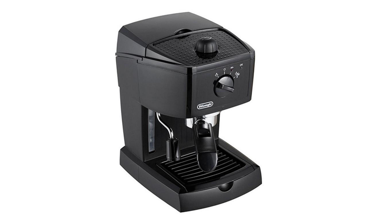 Ekspres do kawy DeLonghi EC 146.B 1100W 15 bar czarny ciśnieniowy