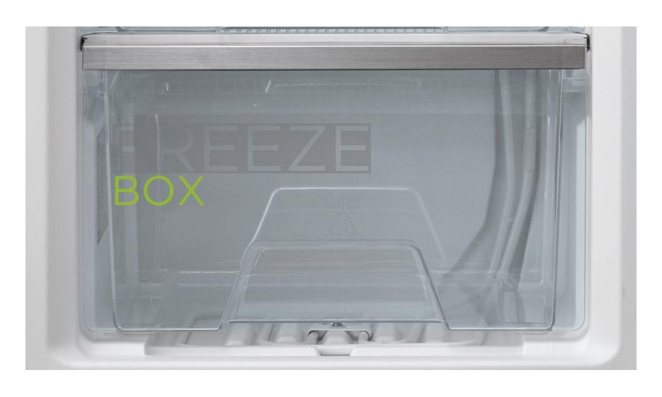 Zamrażarka szufladowa Midea MDRD129FZF01