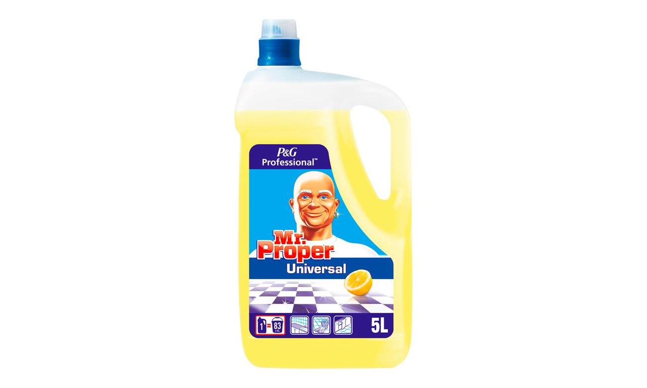 Mr. Proper Płyn czyszczący Uniwersalny Lemon 5L 5410076817283