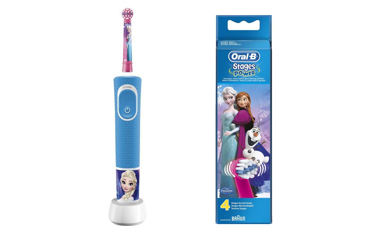 Szczoteczka elektryczna Oral-B D100 Kids Frozen opinie
