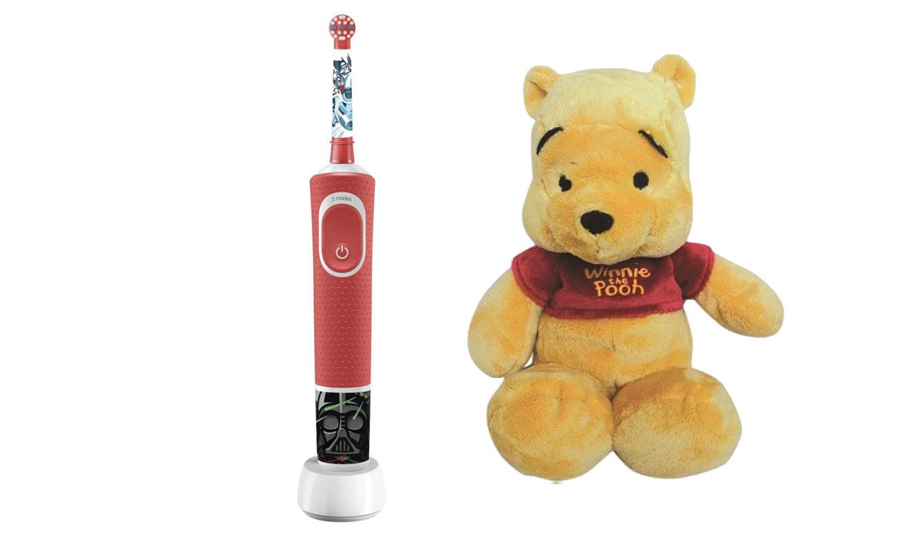 Szczoteczka elektryczna Oral-B D100 Kids StarWars opinie