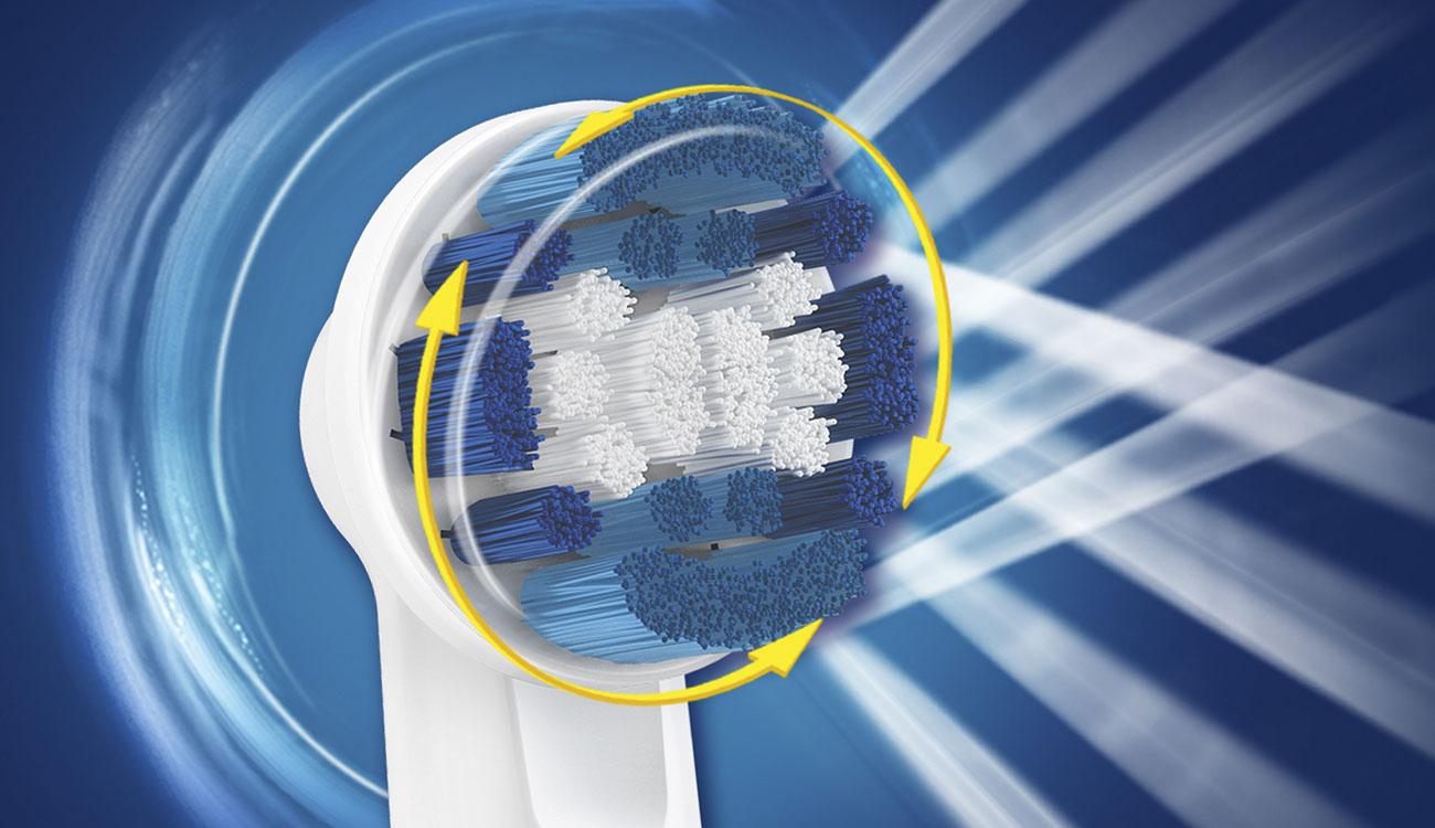 Końcówki do szczoteczki Oral-B Precision Clean EB20-9