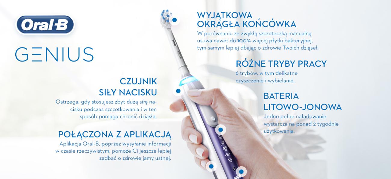 Szczoteczka elektryczna Oral-B 10000N Op