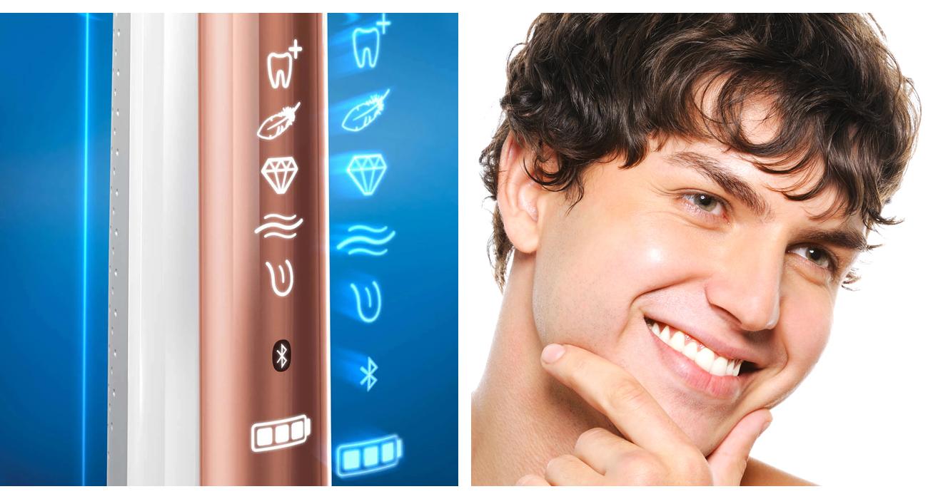 Szczoteczka elektryczna Oral-B Genius 10000 Special Edition Rose Gold Genius10000RG SE