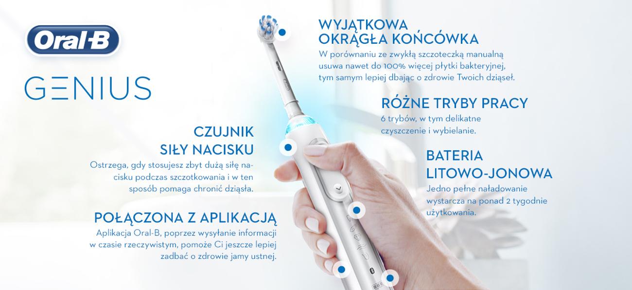 Szczoteczka elektryczna Oral-B 10000N WT