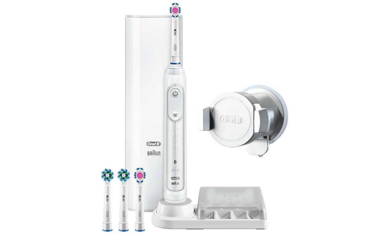 Elektryczna szczoteczka do zębów Oral-B Genius 9200 White
