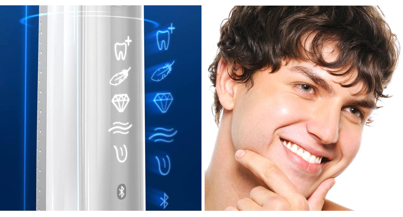 Szczoteczka elektryczna Oral-B Genius X 20000N White Genius 20000 WH
