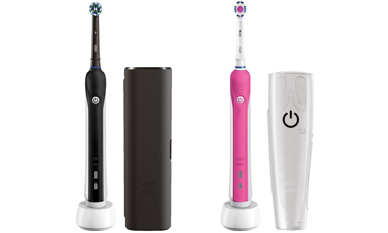 Szczoteczka elektryczna Oral-B Pro 750 Black Pink opinie
