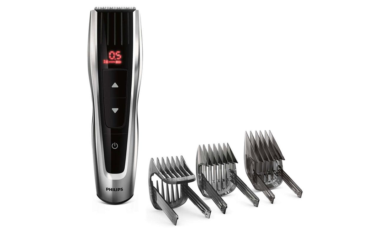 zawartość zestawu Philips Hairclipper Series 7000 HC7460/15