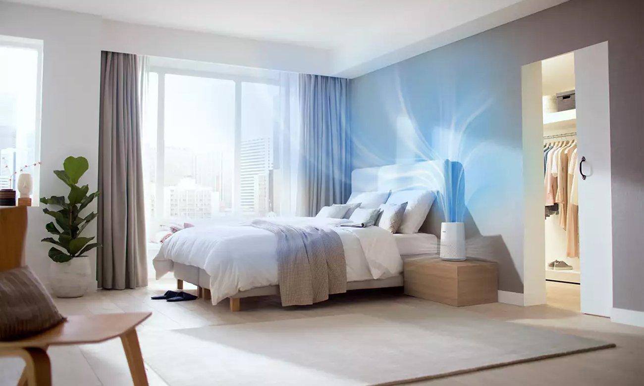 Oczyszczacz powietrza Philips AC0819/10 ma tryb automatycznego oczyszczania