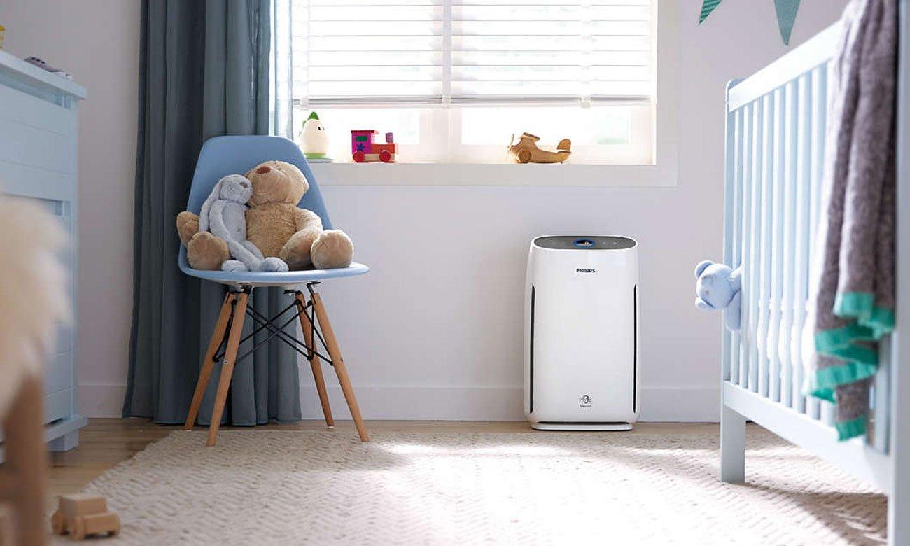 Oczyszczacz powietrza Philips AC1217/50 Series 1000 usuwa skutecznie alergeny