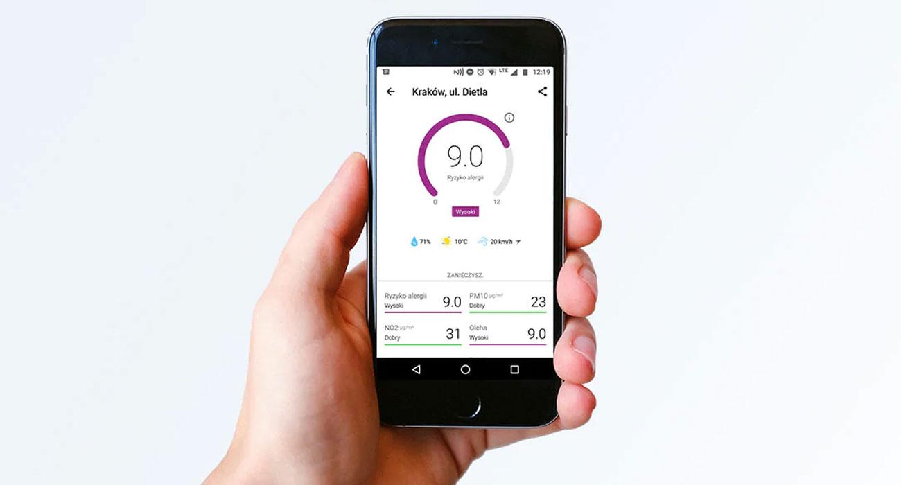 Oczyszczacz powietrza Philips AC2889/10 ma dedykowaną aplikację Air Matters