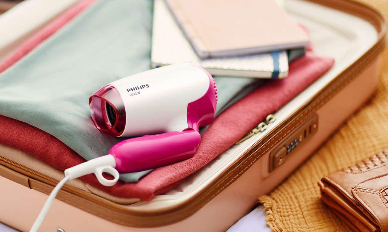 Kompaktowa podróżna suszarka do włosów Philips DryCare Essential BHD003/00