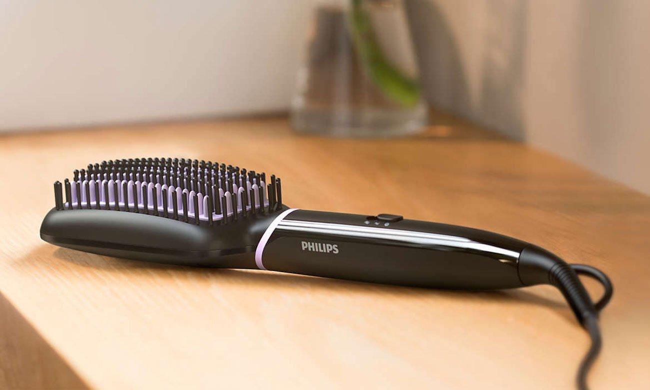 Podgrzewana szczotka do prostowania włosów Philips BHH880/00 StyleCare Essential
