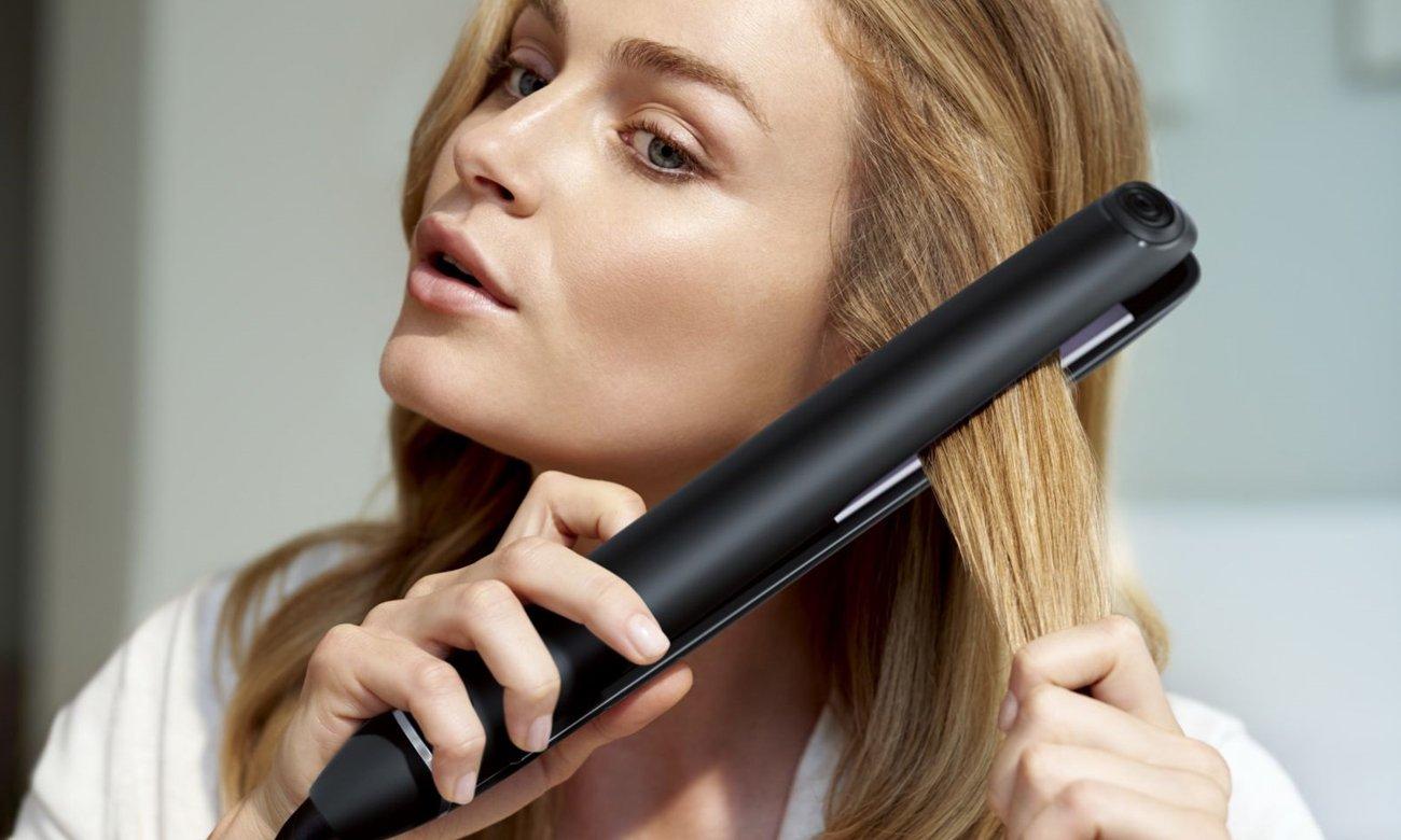 idealnie proste włosy z Philips StraightCare
