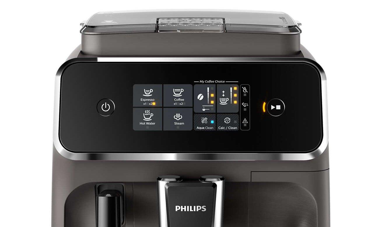 Łatwe sterowanie w ekspresie Philips EP2224/10