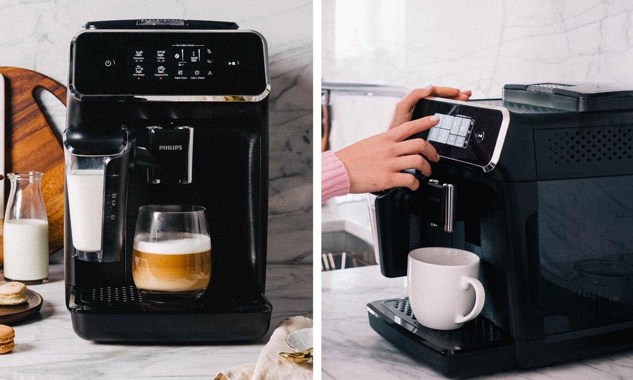 Ekspres do kawy Philips EP2230/10 ma możliwość zapisania osobistego profilu