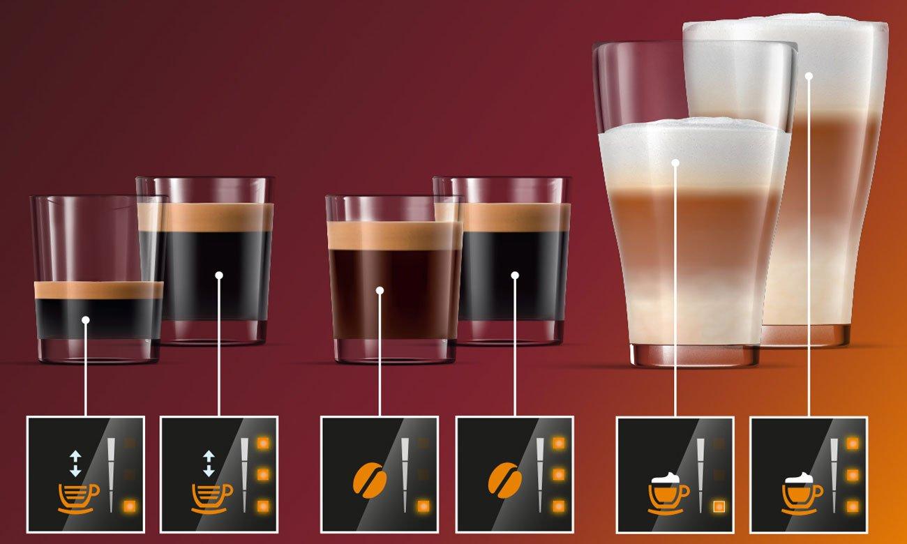 Персонализация настроек кофе в Philips EP2235 / 40