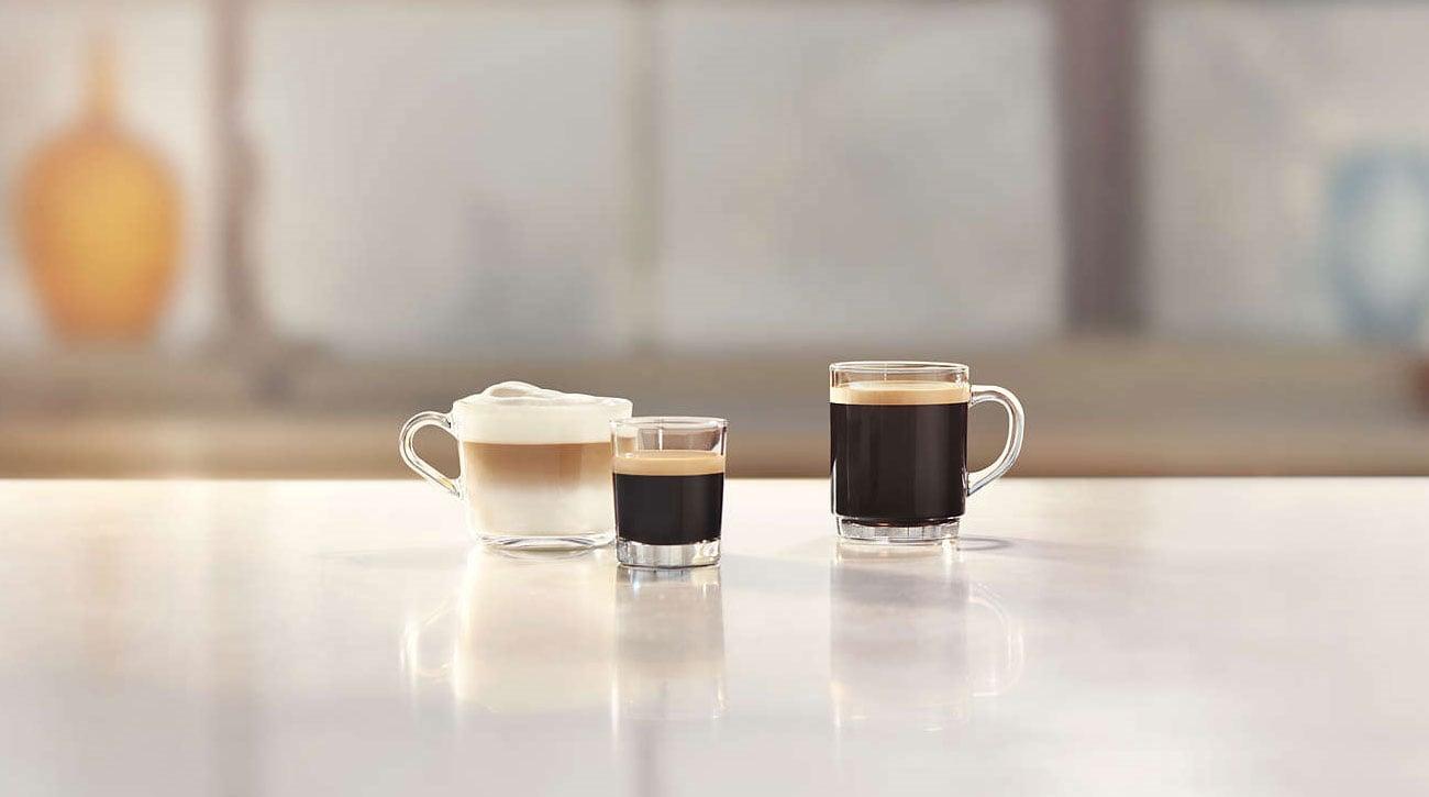 3 rodzaje kaw ekspresie automatycznym w Philips EP2235/40
