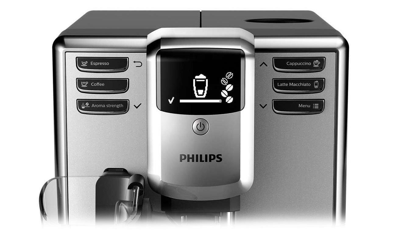Wygodna obsługa ekspresu Philips EP5333/10