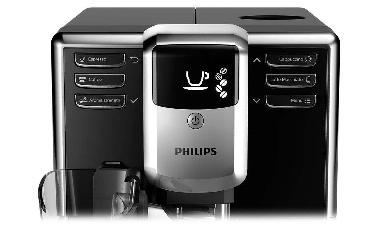 Wygodna obsługa ekspresu Philips EP5340/10