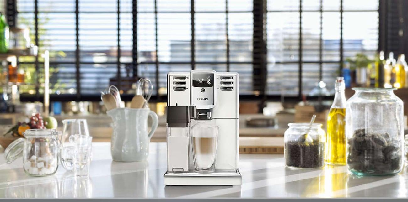 Ekspres do kawy Philips EP5361/10 zapewnia idealną temperaturę kawy