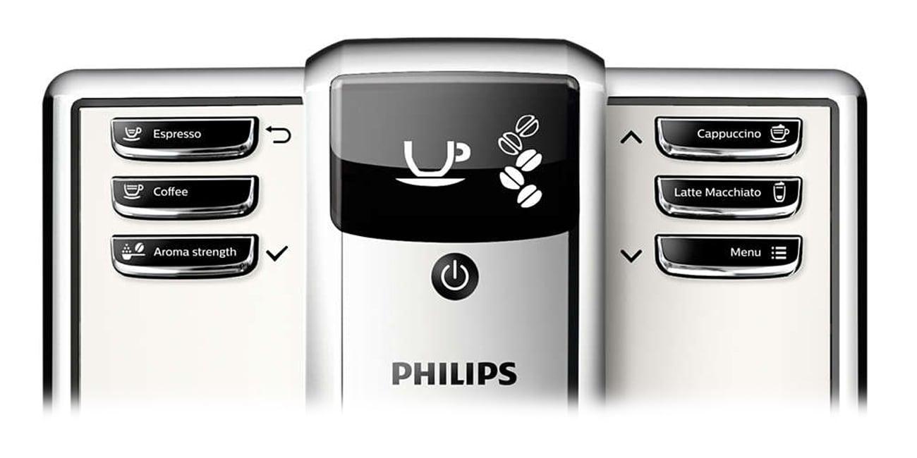 Regulacja ilości i mocy kawy w Philips EP5361/10