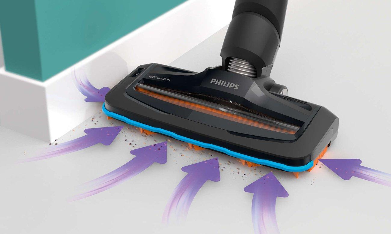 Odkurzacz Philips FC6722/01 SpeedPro ma nasadkę zasysającą