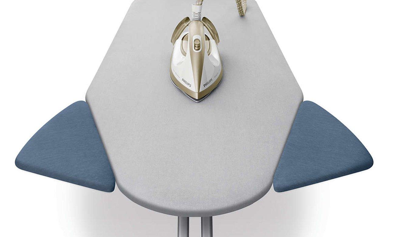 Philips Easy8 Deska do prasowania GC240/25 jest idealnie wyprofilowana