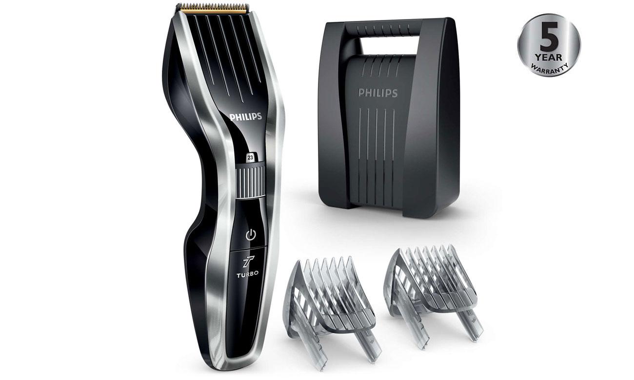 5 lat gwarancji na maszynkę Philips Hairclipper Series 5000 HC5450/80