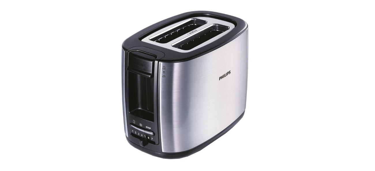 Toster Philips HD2628/20 950W inox smaczne tosty każdego dnia