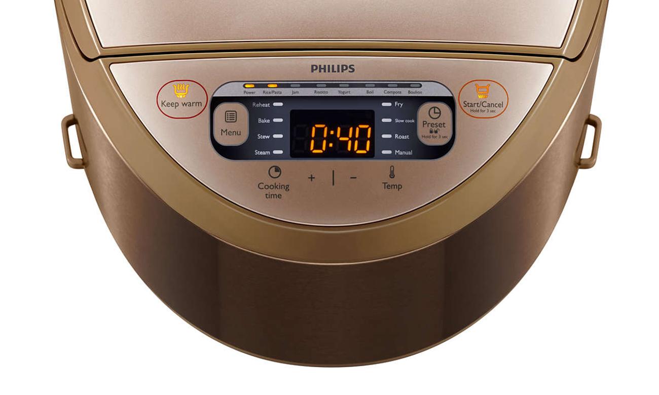 Philips HD3167 / 71 простой в использовании