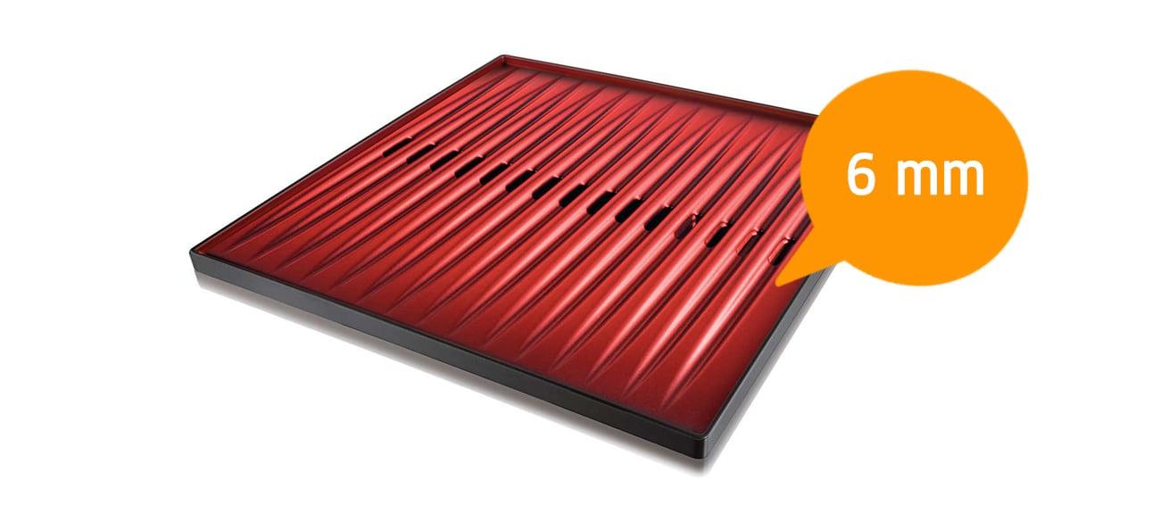 nieprzywierająca powłoka grilla elektrycznego Philips HD 4417/20 2000W