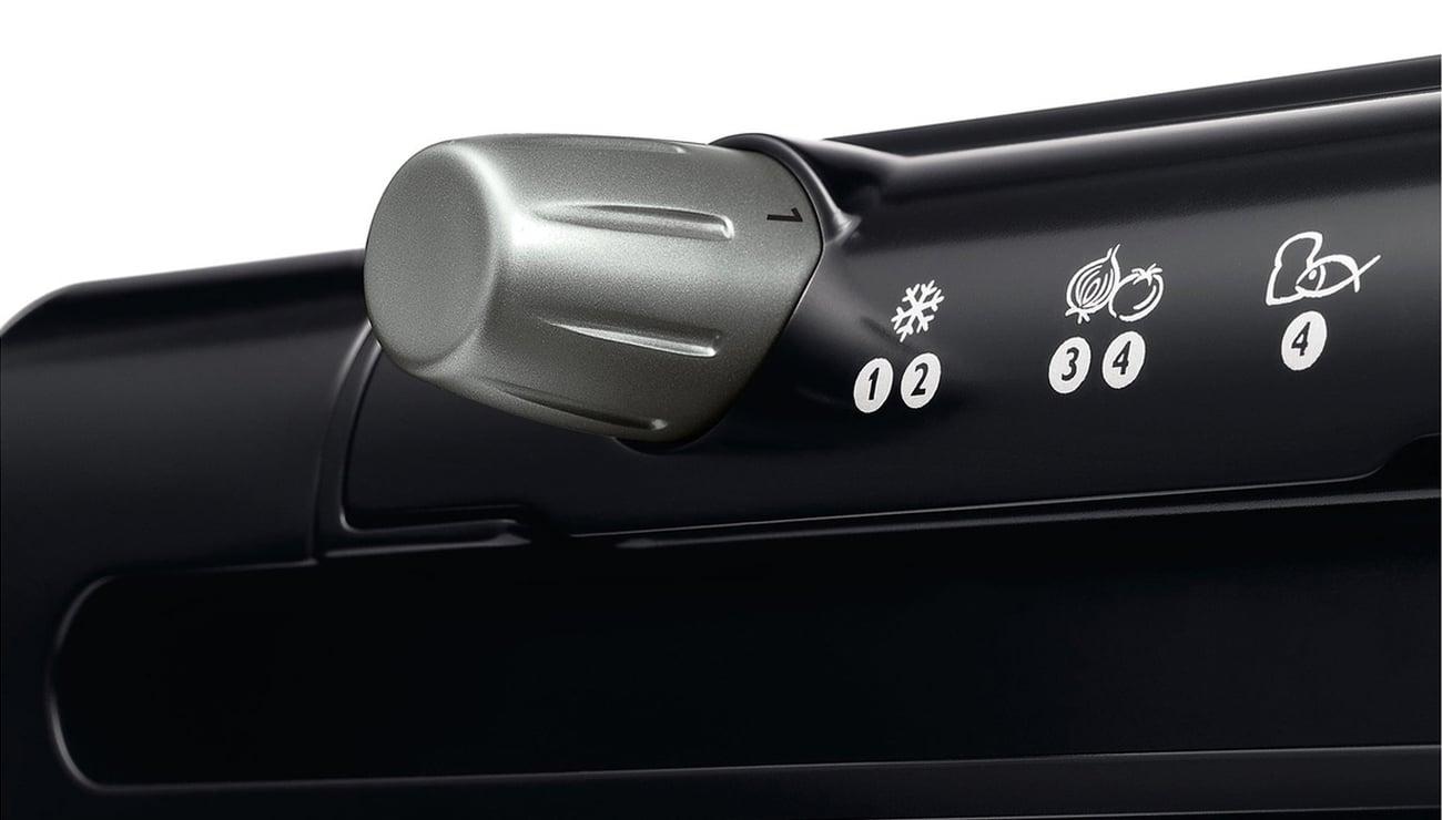 grill elektryczny Philips HD 4417/20 2000W z tacką odprowadzającą tłuszcz - odprowadzenie tłuszczu