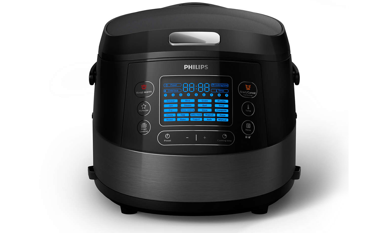 Multicooker Philips Multicooker HD4749/70 1070W czarny