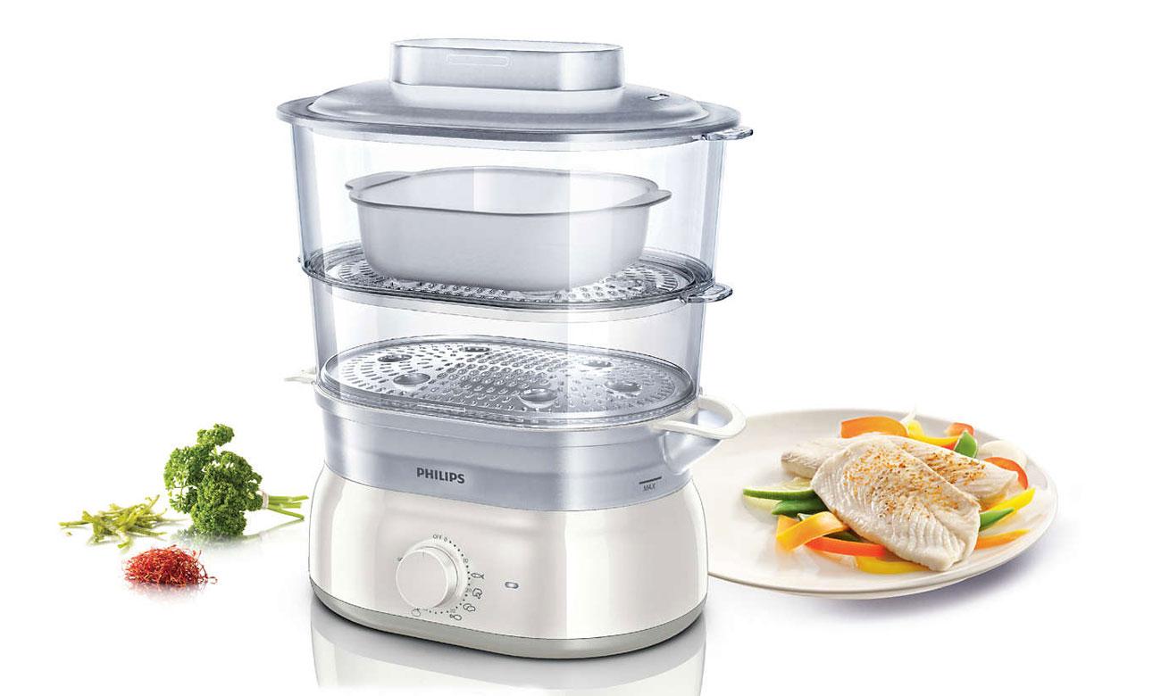 zdrowe potrawy dzięki Philips Daily HD 9115/00 900W biały