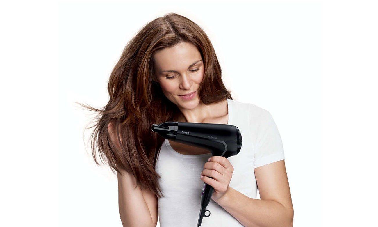 Suszarka do włosów Philips ThermoProtect HP8230/00 2100W biała komfort użytkowania