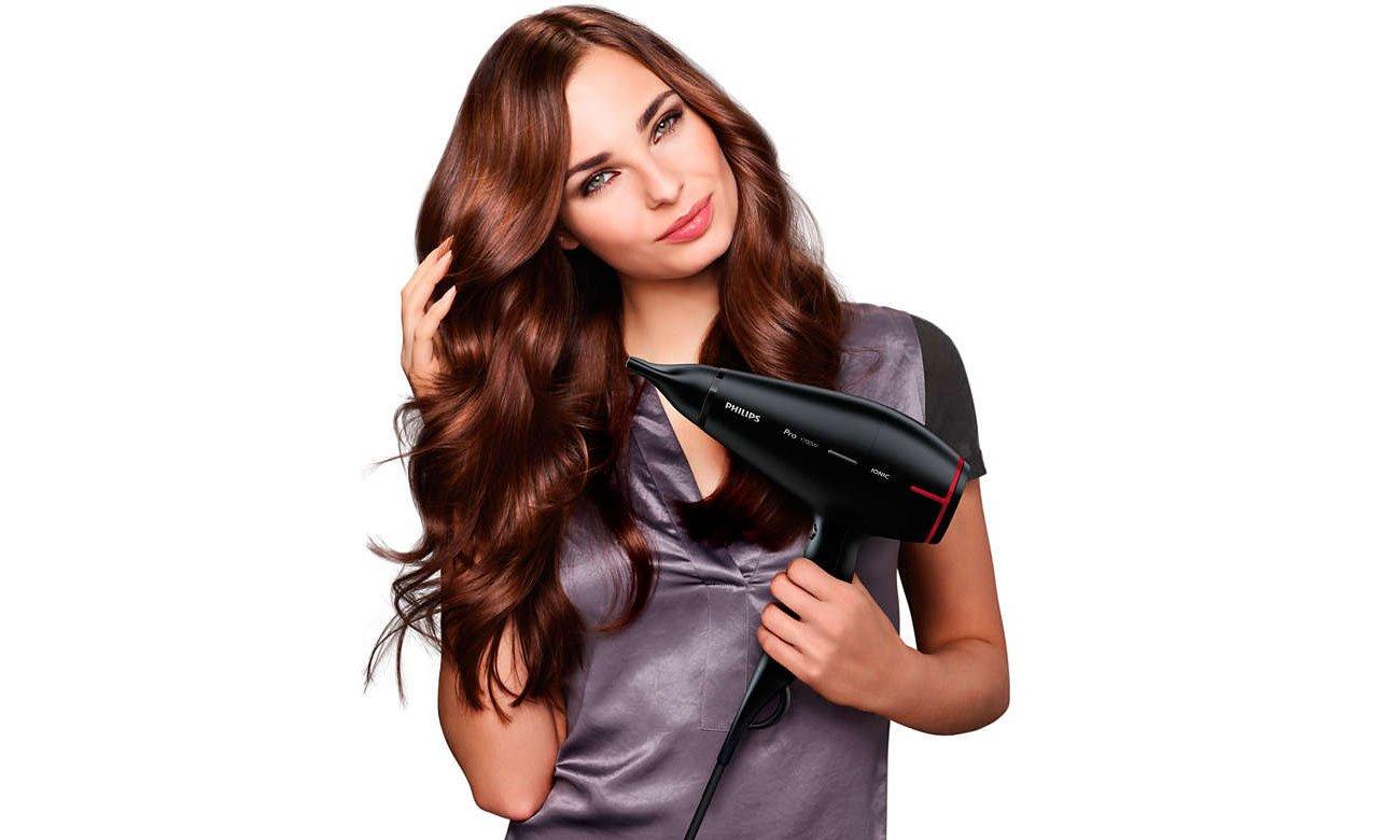 Suszarka do włosów Philips HPS910/00 DryCare Prestige