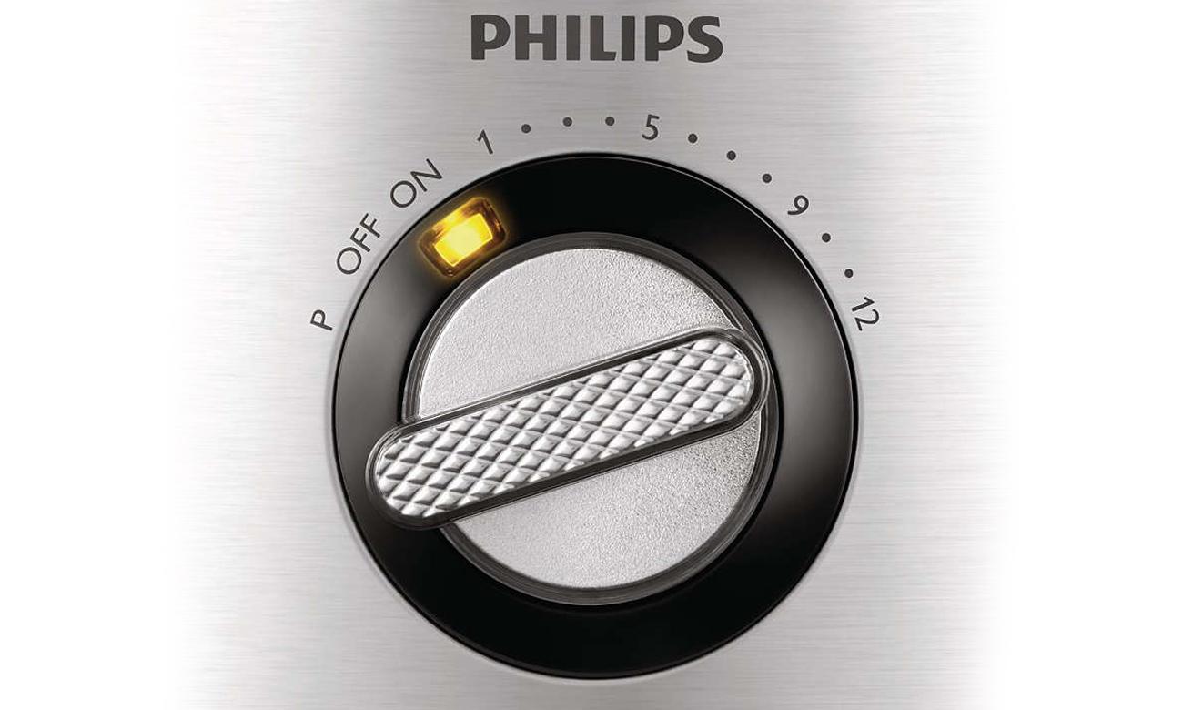 Regulacja prędkości w robocie kuchenny Philips HR7778/00