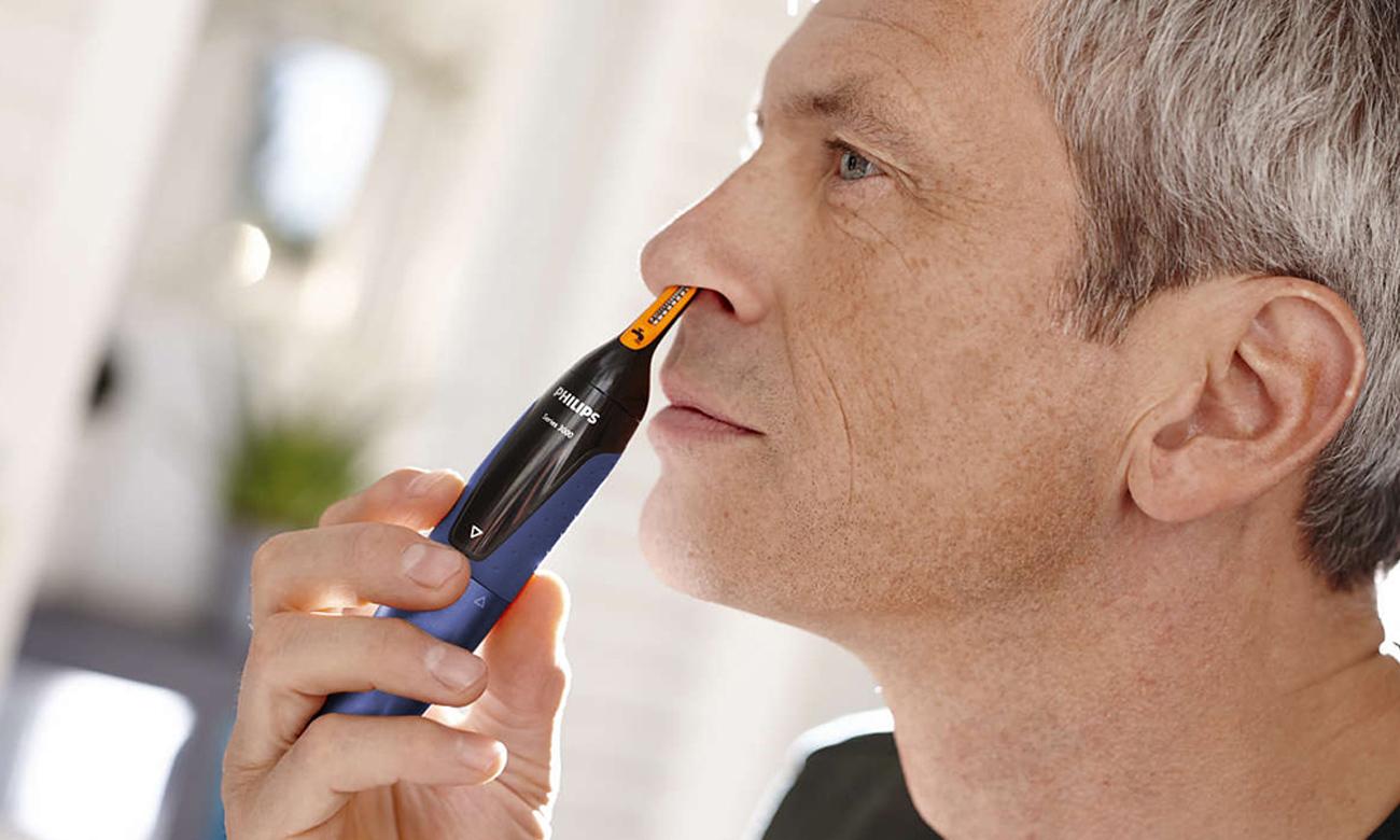 Philips Nosetrimmer Series 5000 NT5180/15 niebieski zastosowanie innowacyjnych technologii