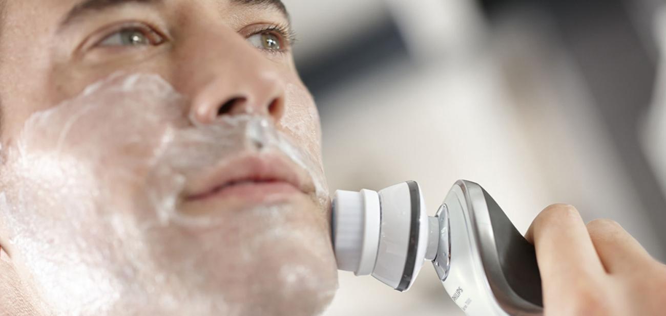 Philips SmartClick Szczoteczka do oczyszczania twarzy idealna dla skóry wrażliwej