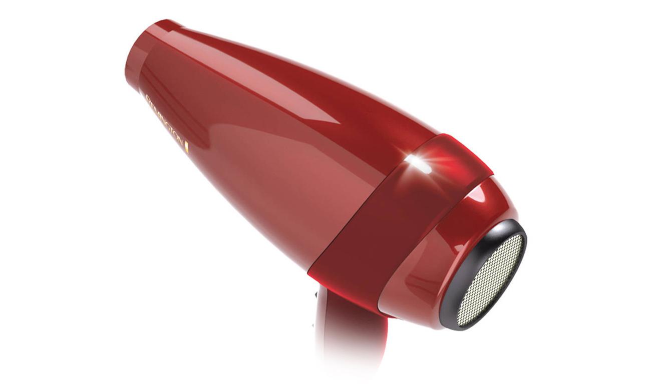 Suszarka do włosów Remington Silk AC9096 2400W czerwona duża moc