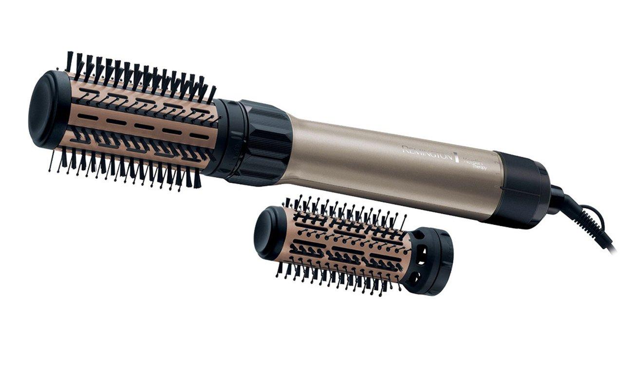 Suszarko-lokówka Remington Keratin Volume AS8110 beżowa innowacyjne technologie