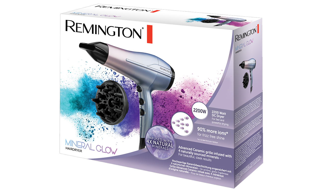 suszarka do włosów Remington Mineral Glow D5408