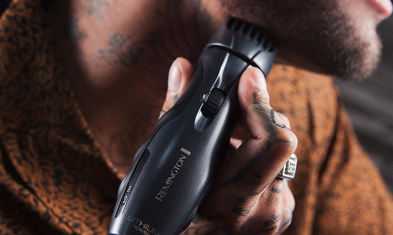 Powłoka ceramiczna w trymerze Remington MB350L Lithium Beard Barba