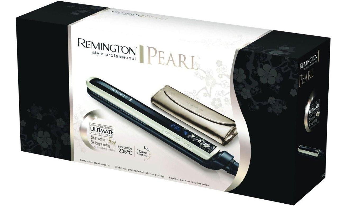 prostownica do włosów Remington Pearl Straightener S9500 opinie