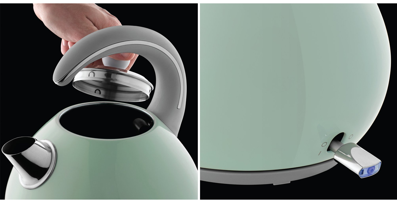 Czajnik elektryczny Russell Hobbs Bubble Soft Green 24404-70