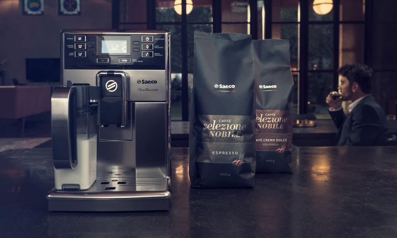 Kawa Saeco Arabica Robusta CA6811/00 Caffè Selezione Nobile Espresso