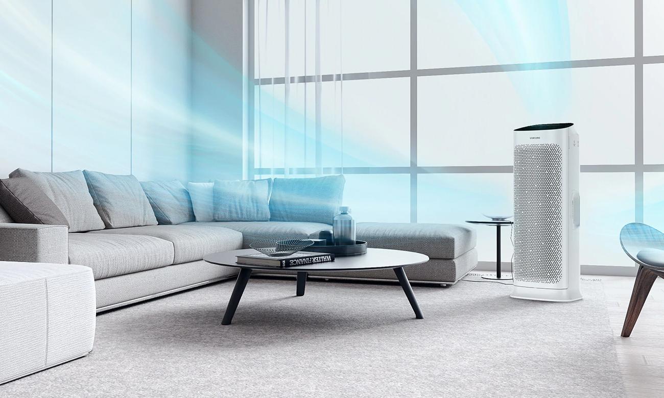 Elegancki Oczyszczacz powietrza Samsung AX90R7080WD