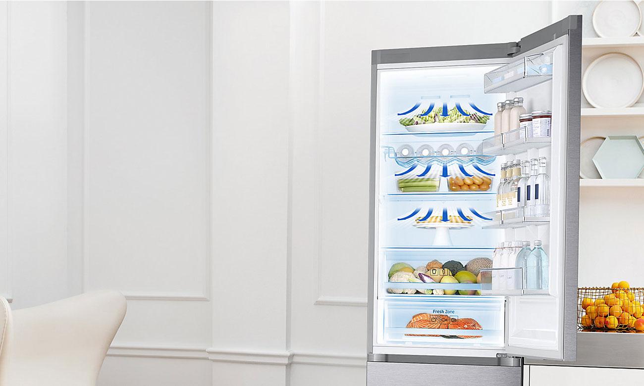 All Around Cooling w lodówce Samsung BRB260010WW